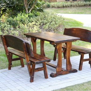 Outdoor-Table-Bench